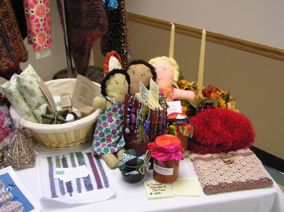bhs craft show booth
